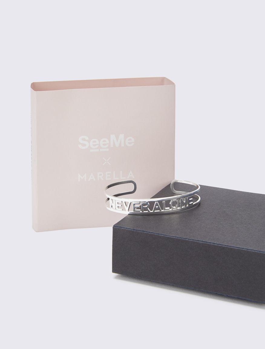 #NEVERALONE cuff bracelet Marella