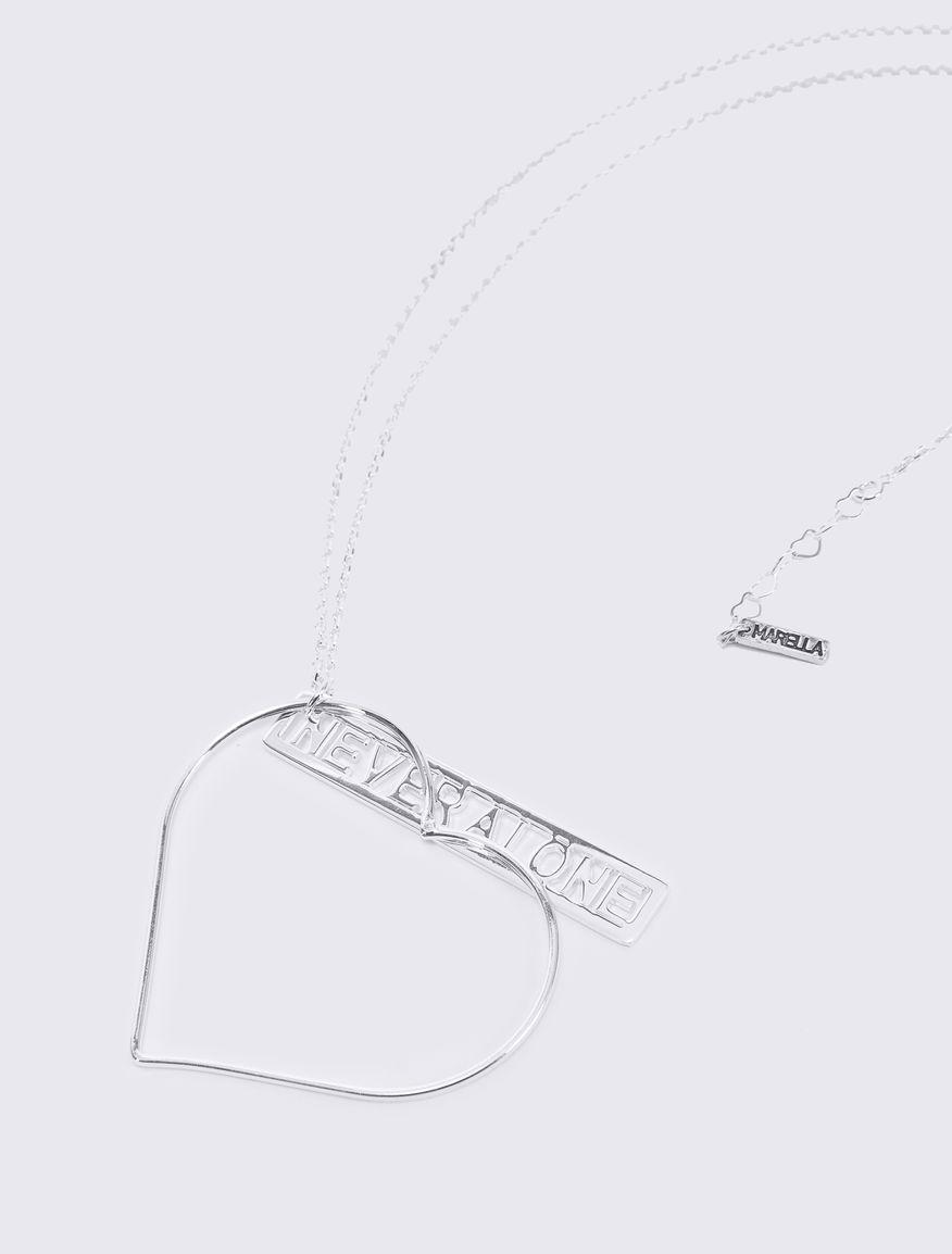 Necklace with #NEVERALONE chain Marella