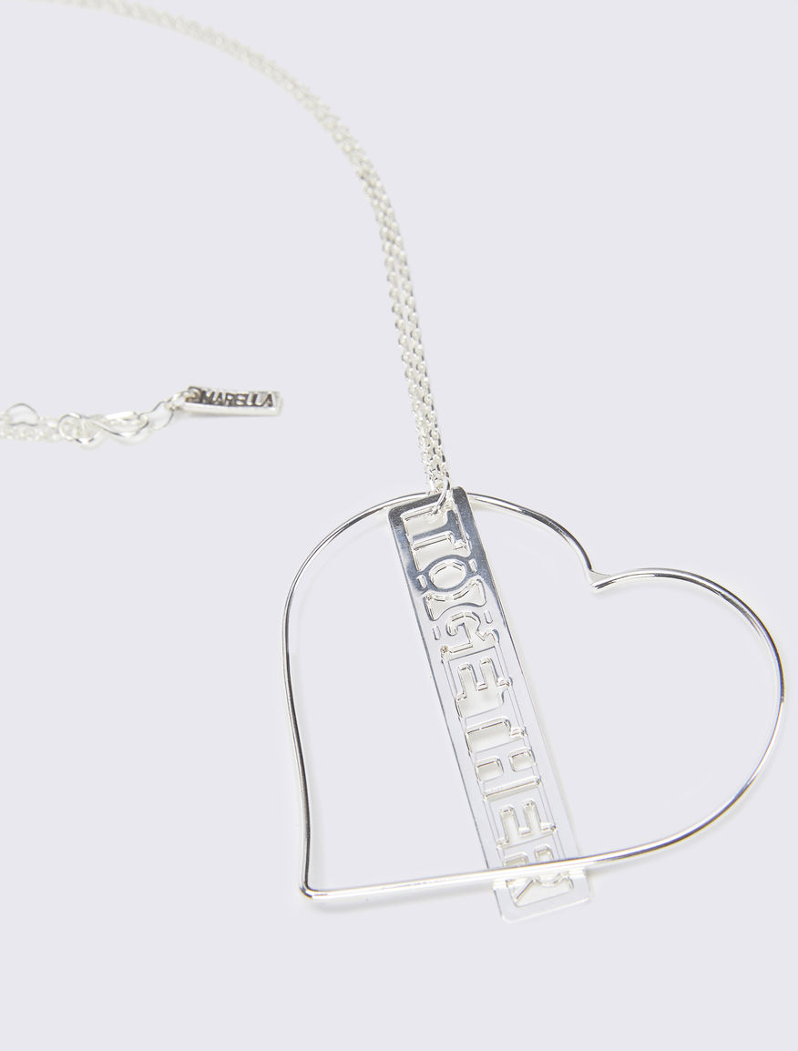 Necklace with #NEVERALONE chain Marella