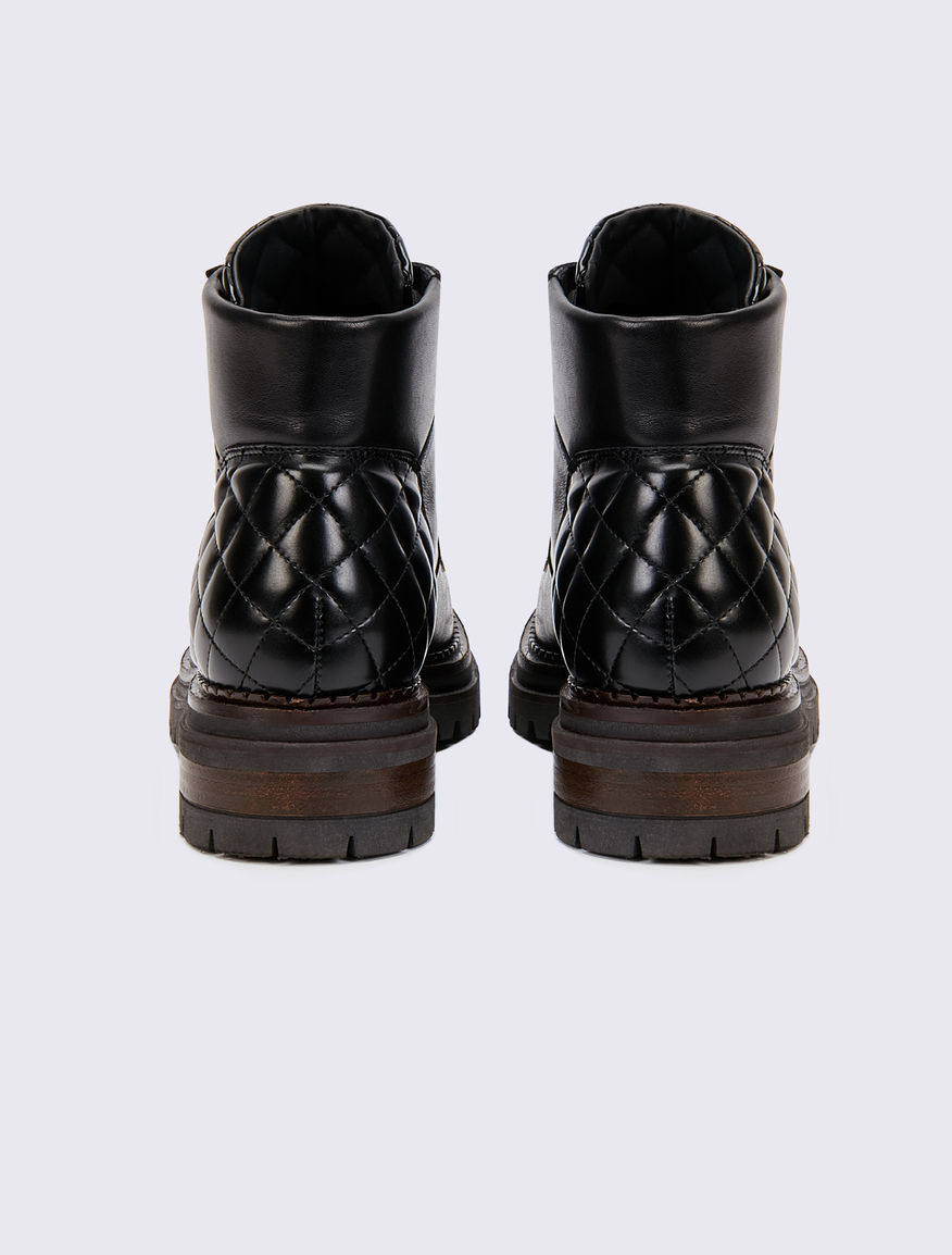 Leather amphibious boots Marella