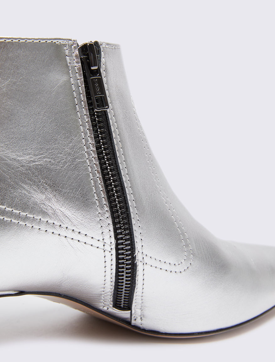 Laminated ankle boots Marella
