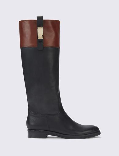Two-tone boots Marella
