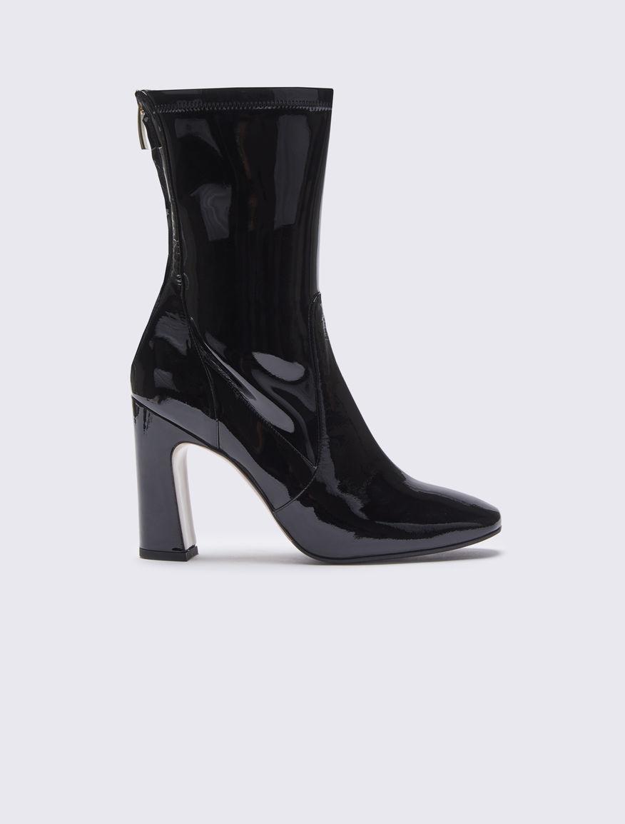 Patent leather half boots Marella