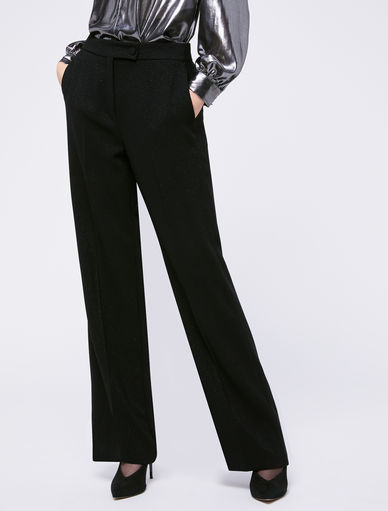 Pantaloni lurex Marella
