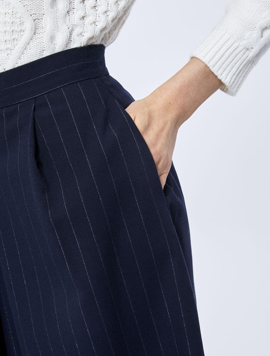 Pinstripe culottes Marella