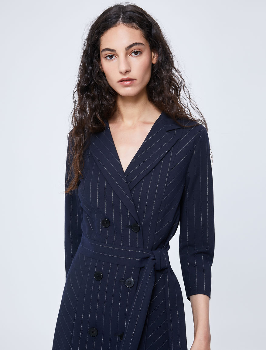 Pinstripe dress Marella