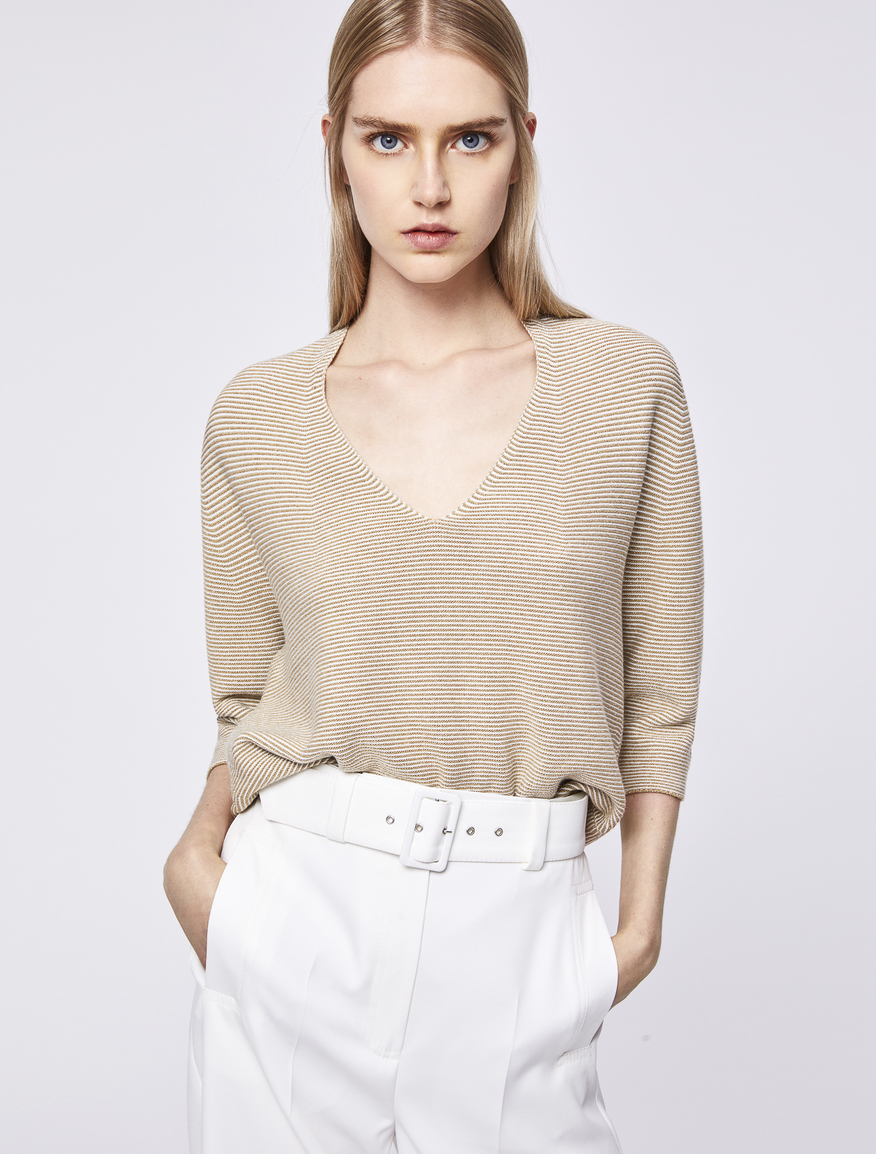 V-neck jumper Marella