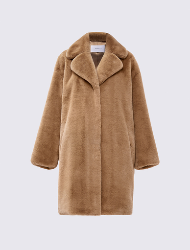 Fluffy coat Marella