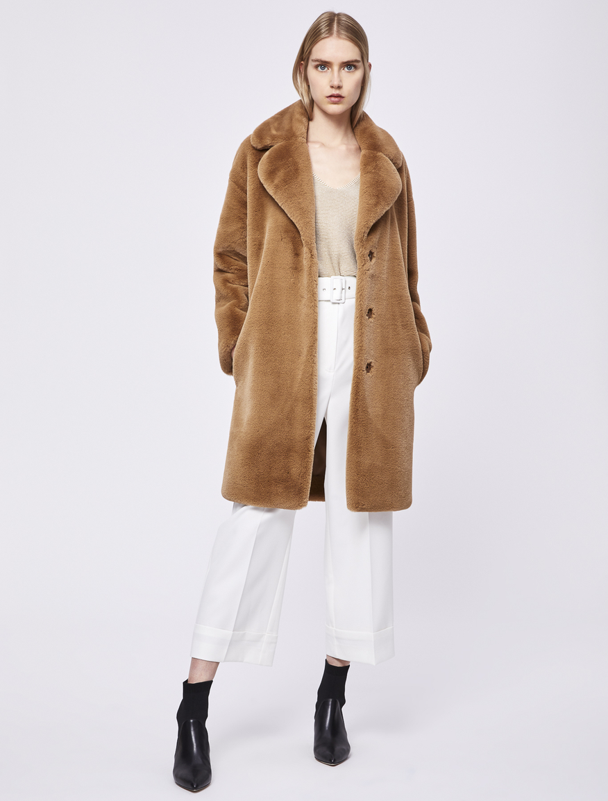 Fluffy coat Marella