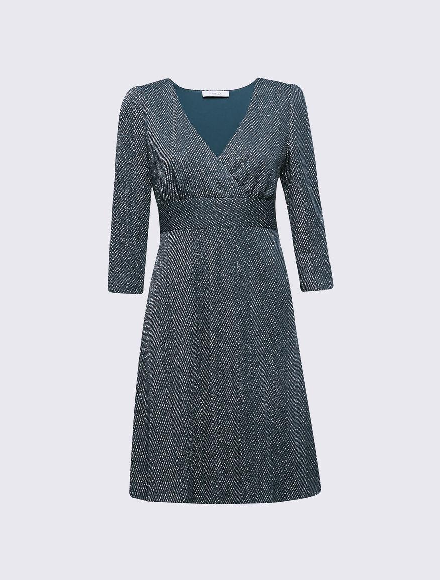 Vestido de lúrex Marella