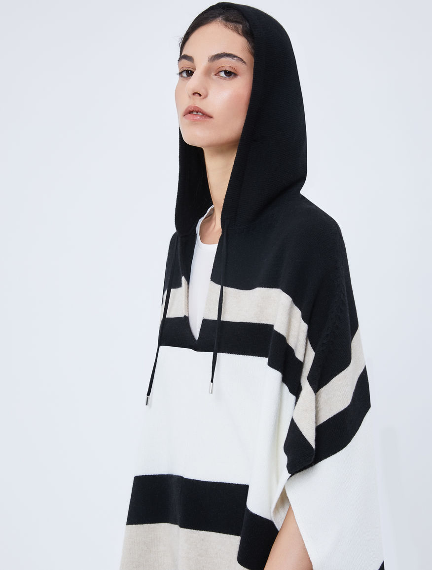Hooded cape Marella