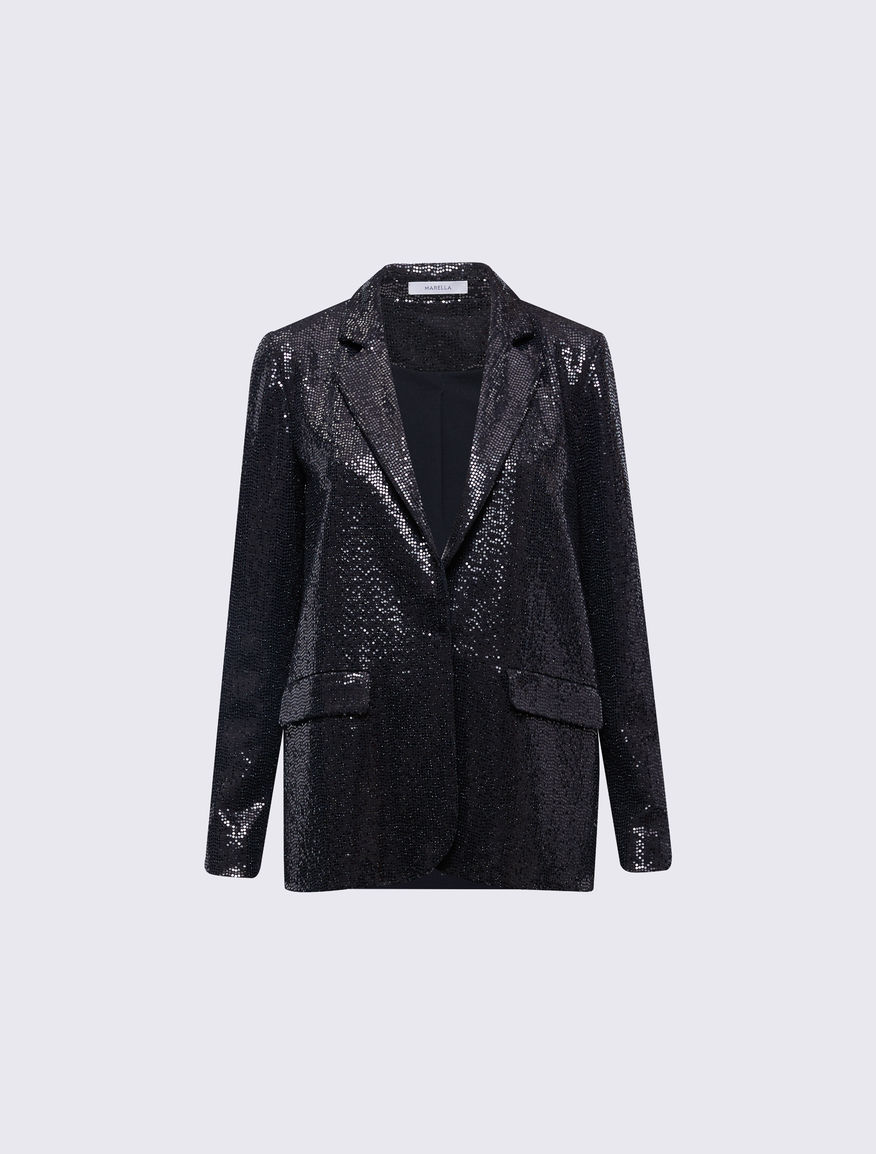 Laminated blazer Marella
