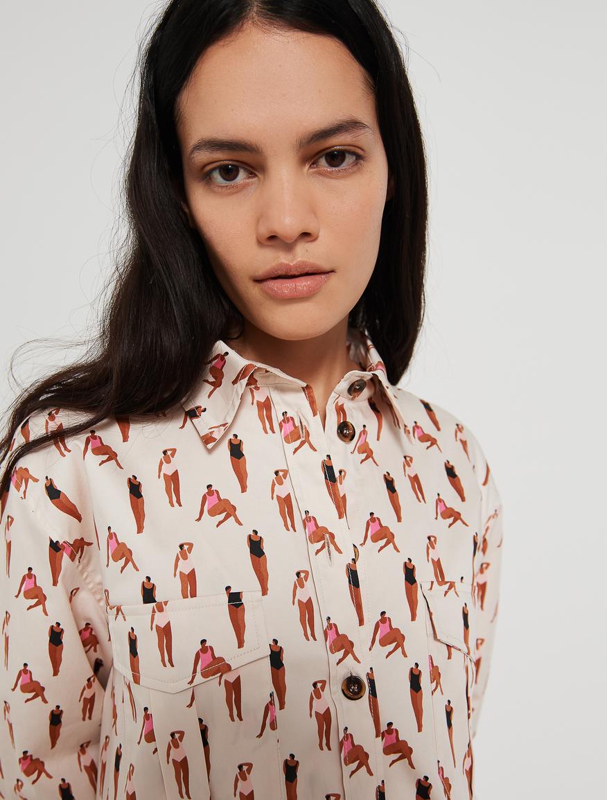 KENESHA SNEED x MARELLA shirt Marella
