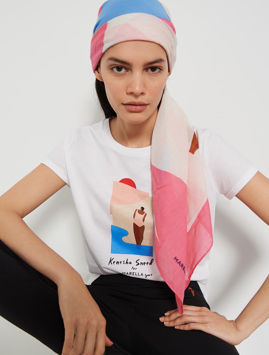 KENESHA SNEED x MARELLA t-shirt Marella