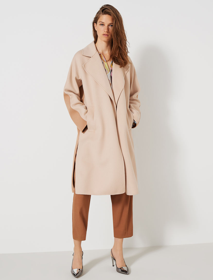 Two-tone coat Marella