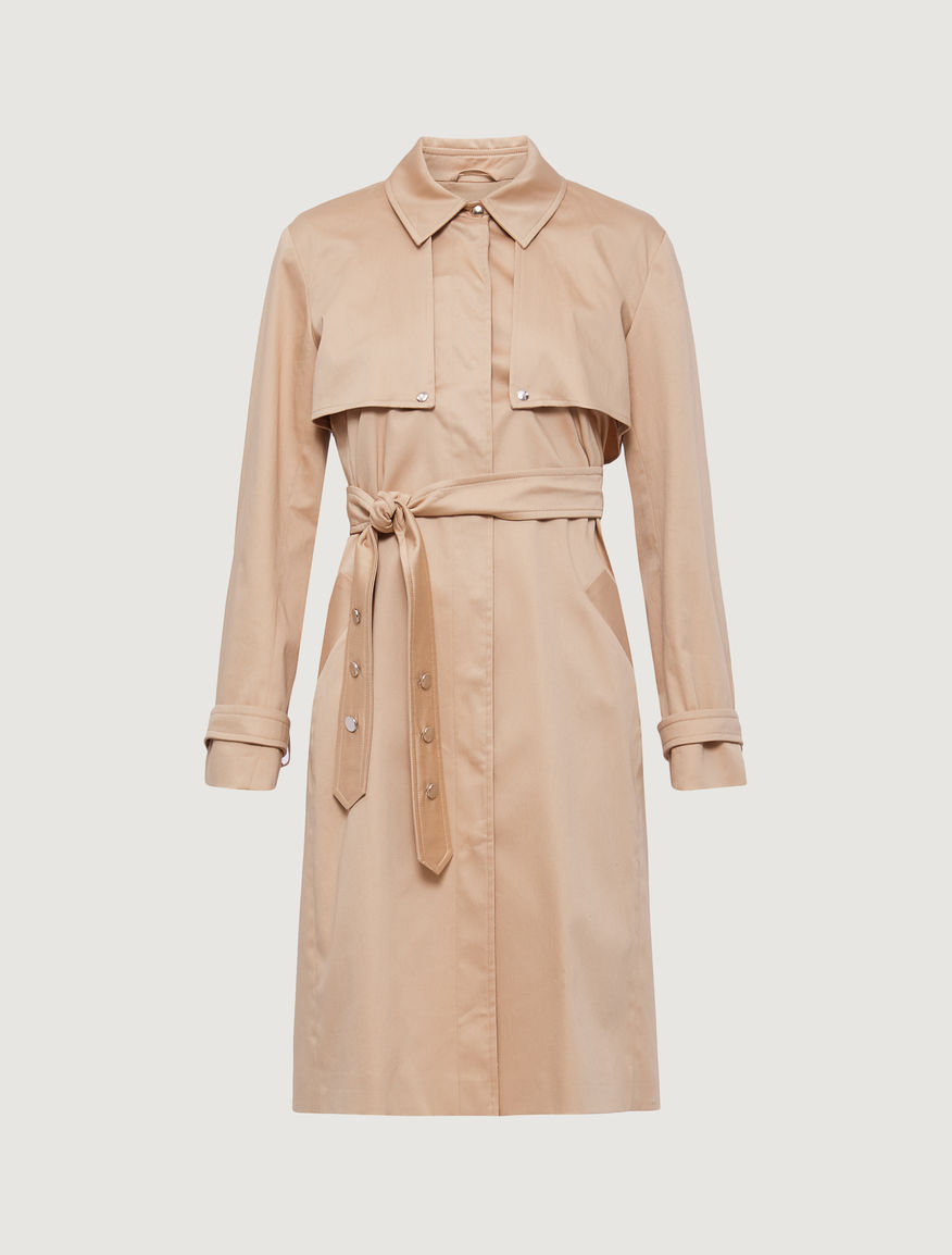 Satin trench coat Marella