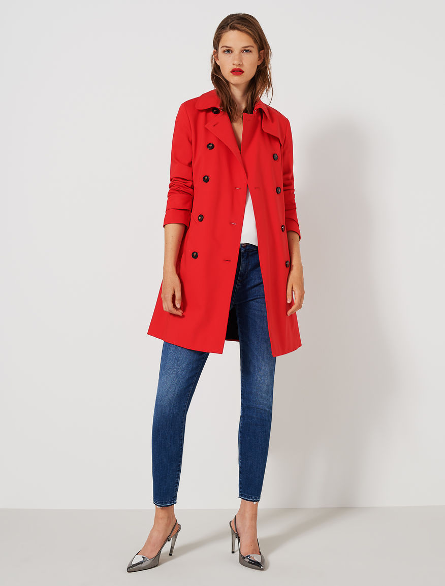 Belted trench coat Marella