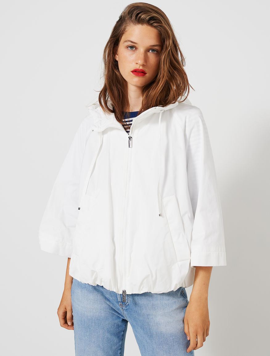 Hooded blouson Marella