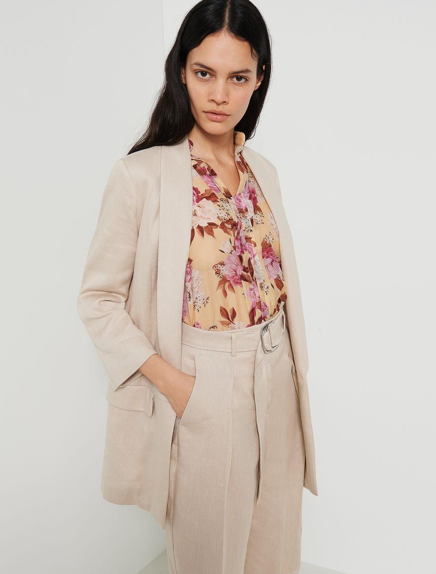 Linen blend jacket Marella