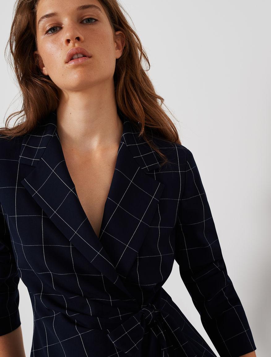 Asymmetric blazer Marella