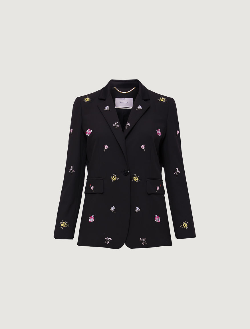 Embroidered blazer Marella