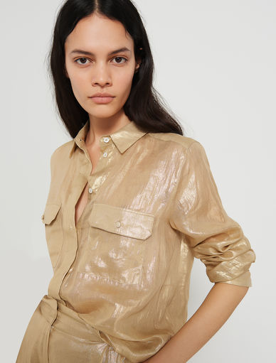Laminated shirt Marella
