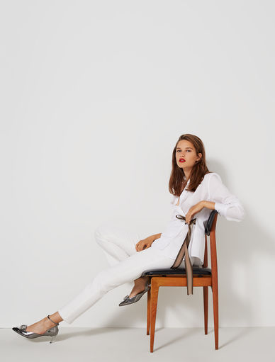 Asymmetric shirt Marella