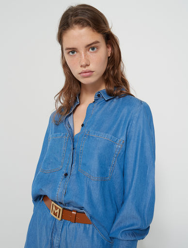 Camicia in denim Marella