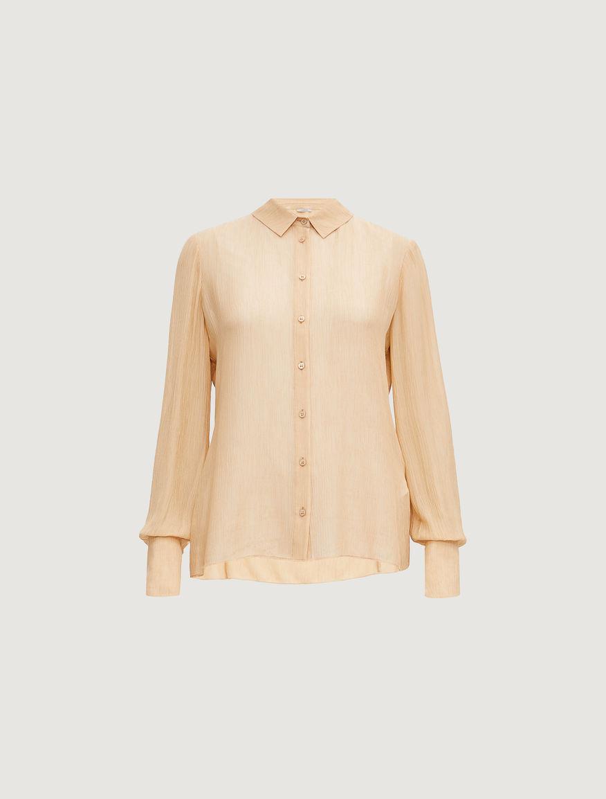 Camisa en mezcla de seda Marella