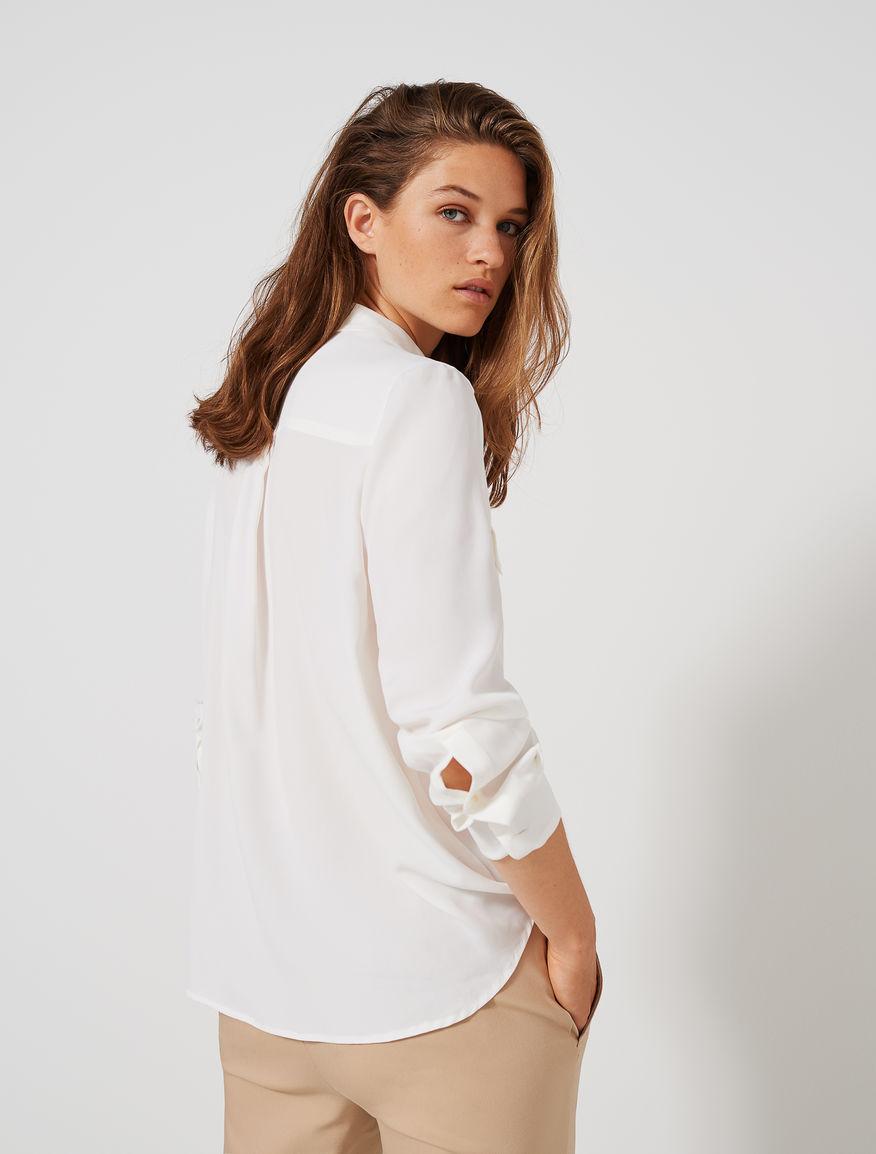 Camisa de crepé Marella