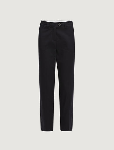 Cigarette leg trousers Marella