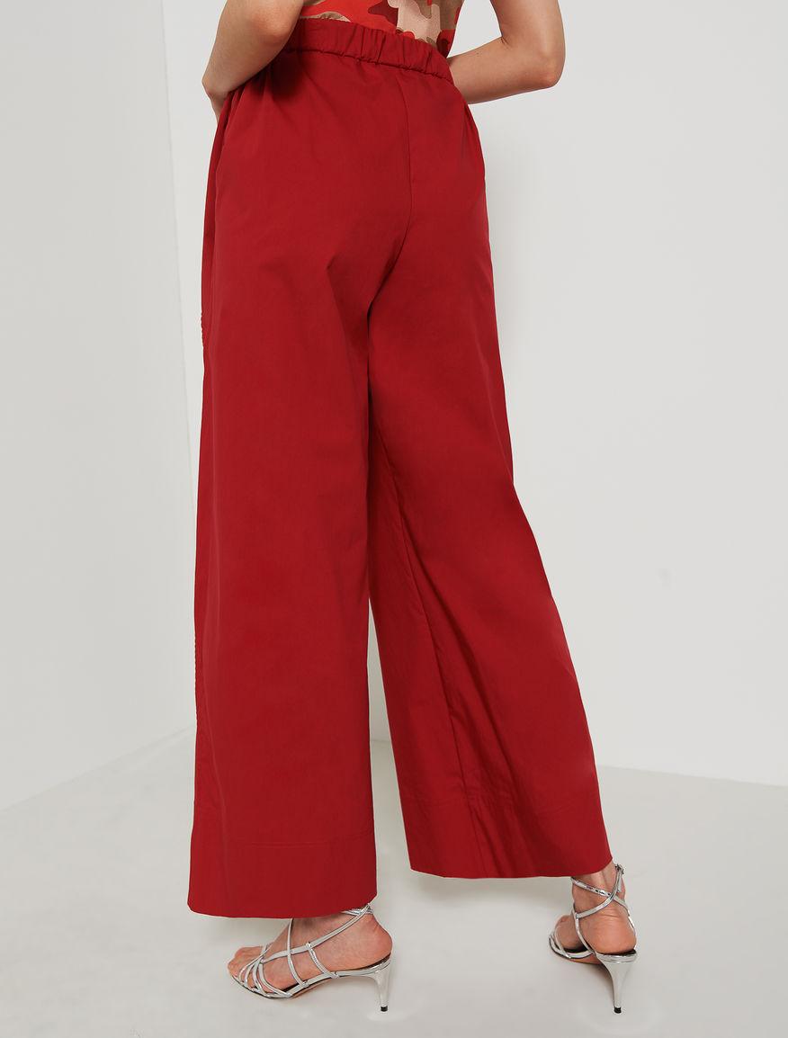 Poplin trousers. Marella