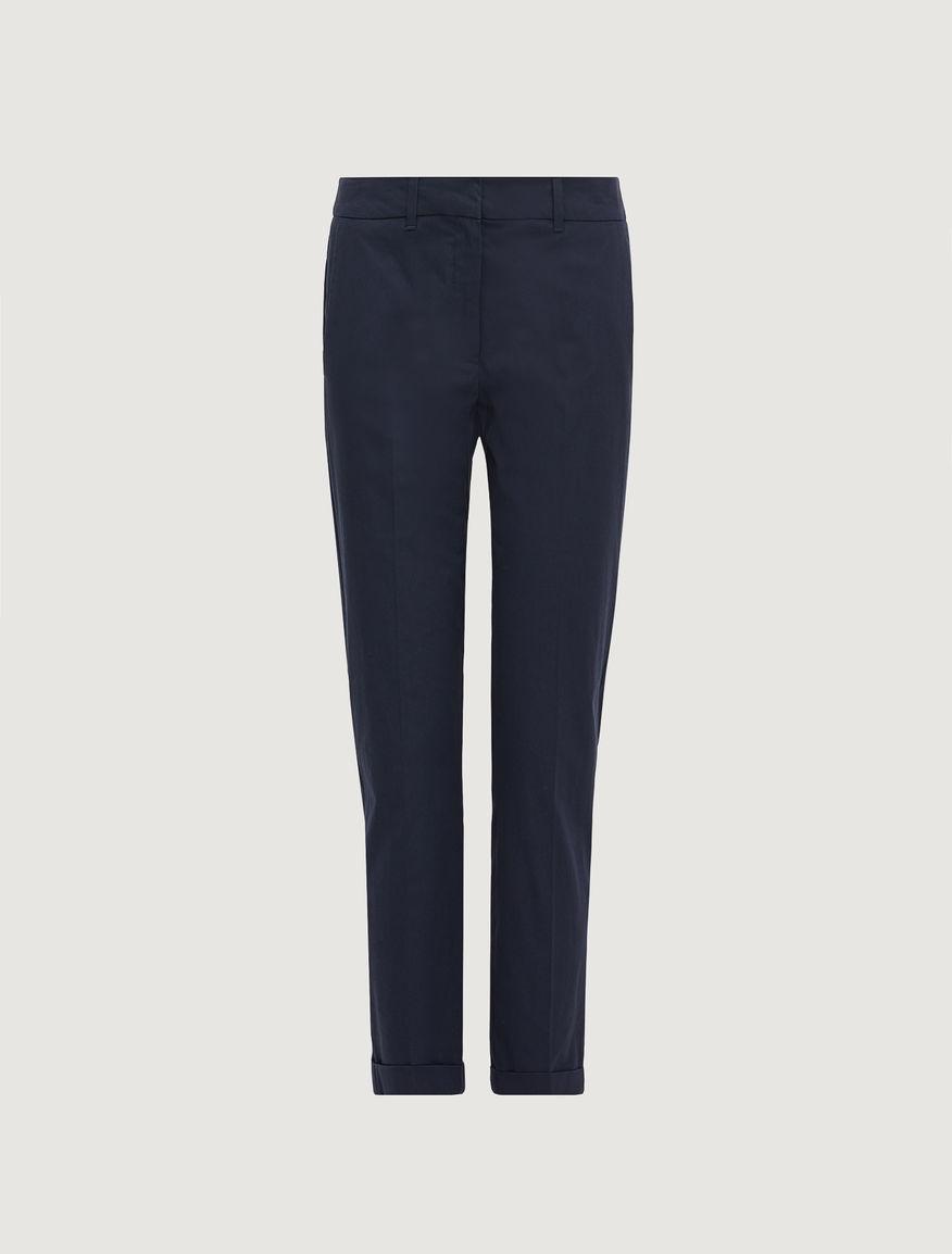 Poplin trousers Marella