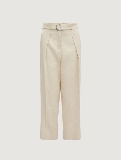 Linen blend trousers Marella