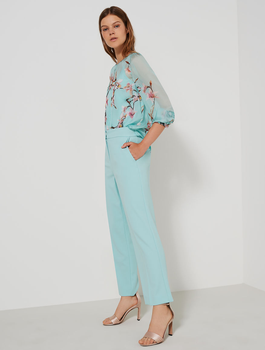 Straight-fit trousers Marella