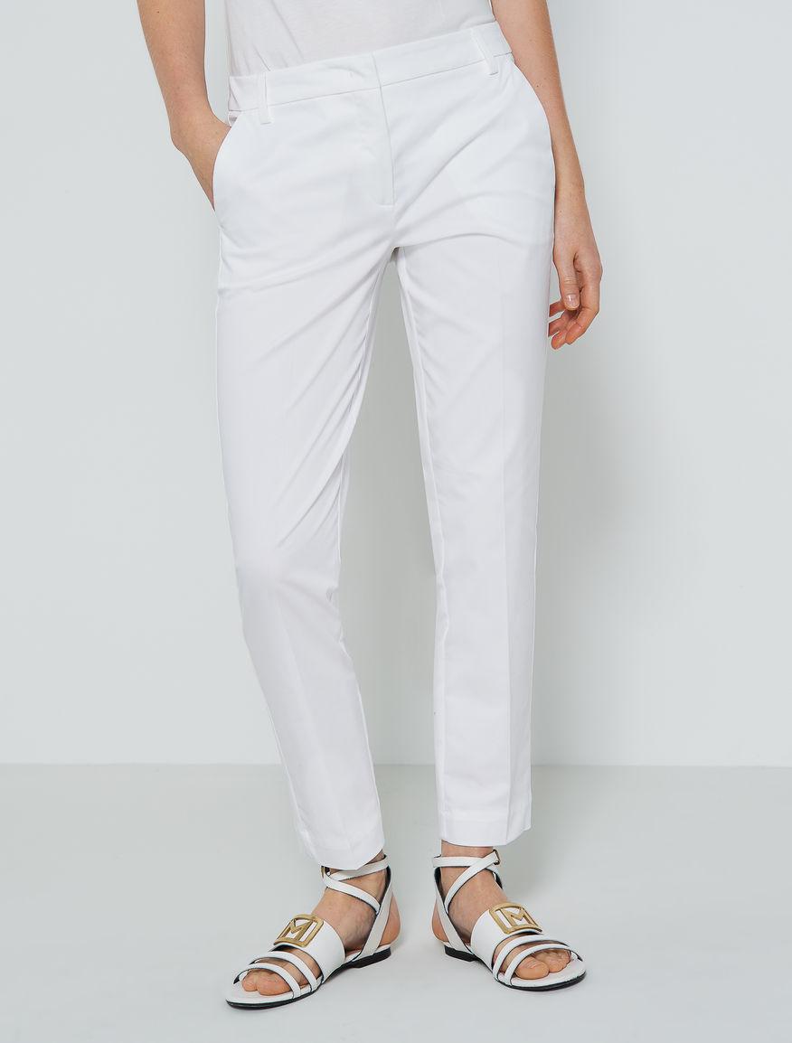Cigarette leg trousers Marella