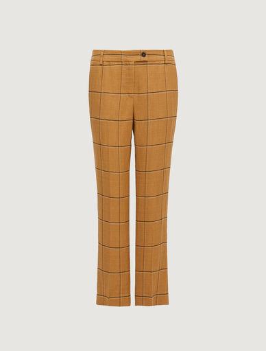 Pantaloni in misto lino Marella