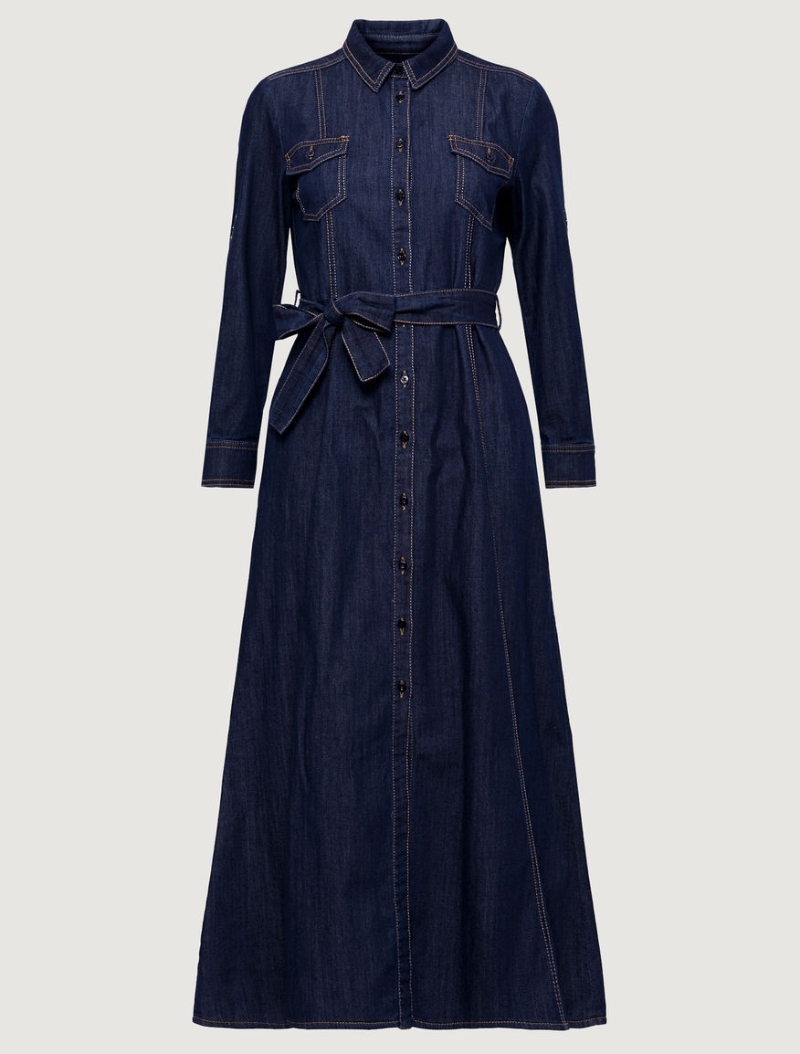 Denim dress. Marella