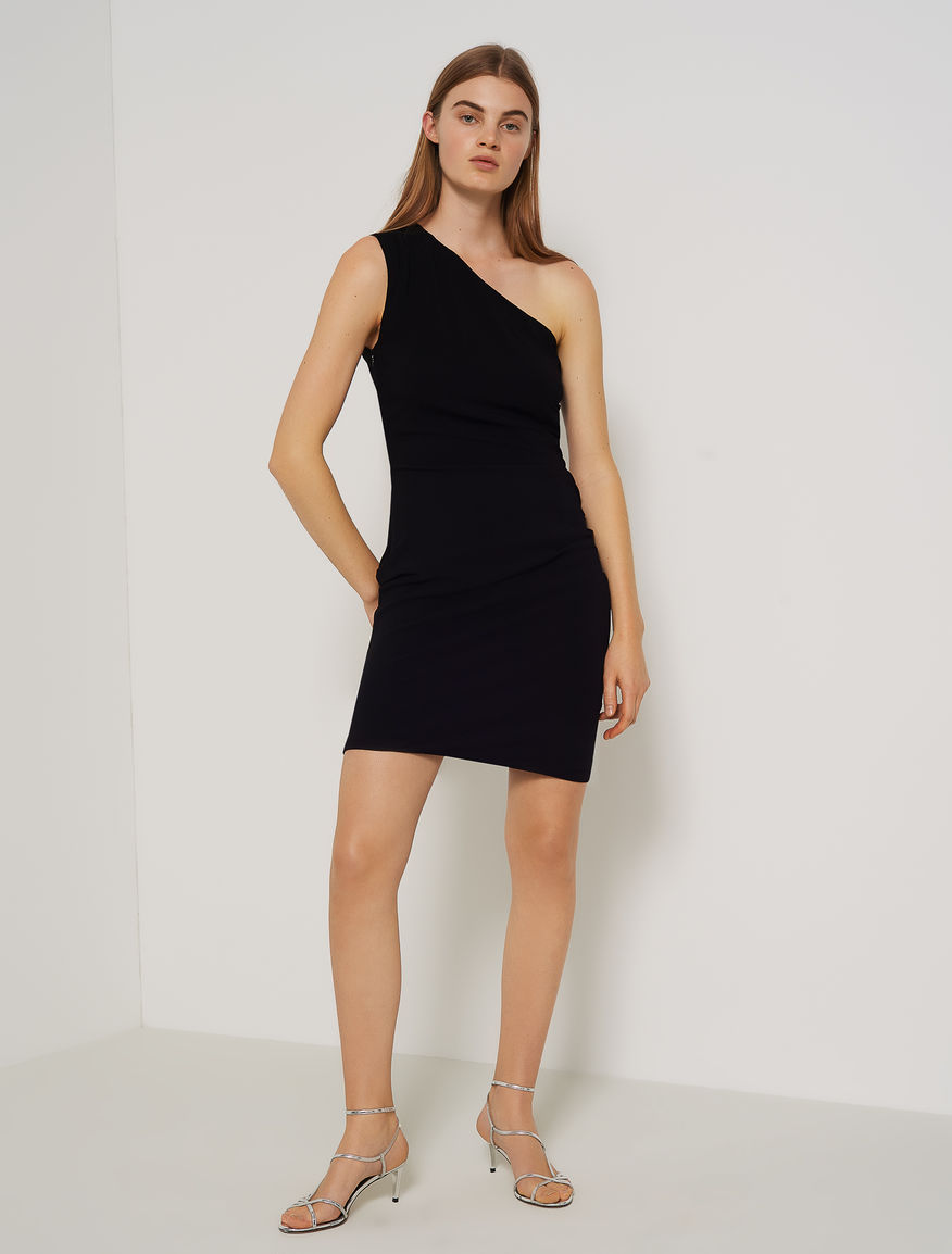 One-shoulder sheath dress Marella
