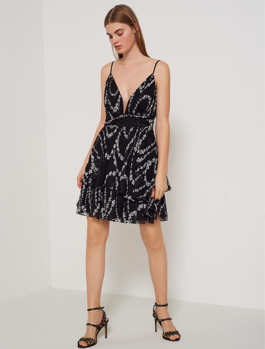 Dress with flounces Marella