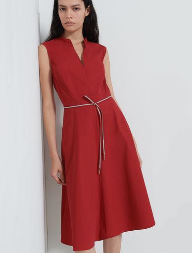 Vestido de popelina Marella
