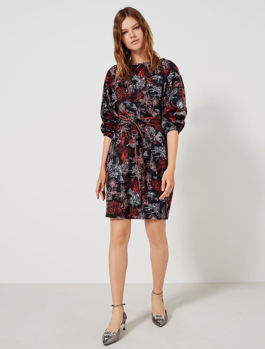 Patterned dress Marella