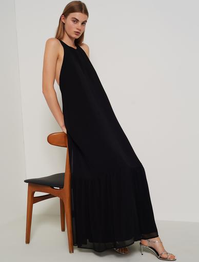 modello GIUGNO Casacca in seta MARELLA nero o bianco