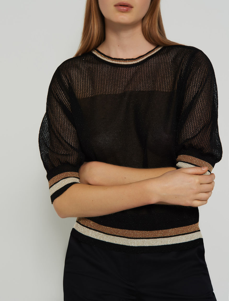 Jumper with lurex Marella