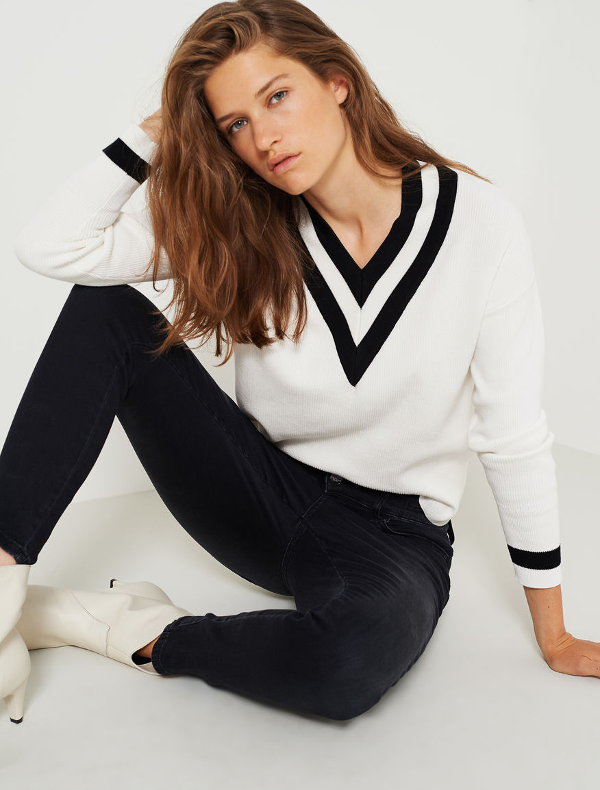 V neck jumper Marella
