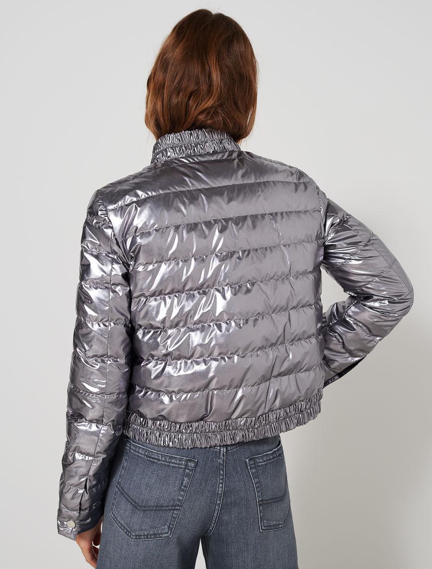 Metallic puffer jacket Marella