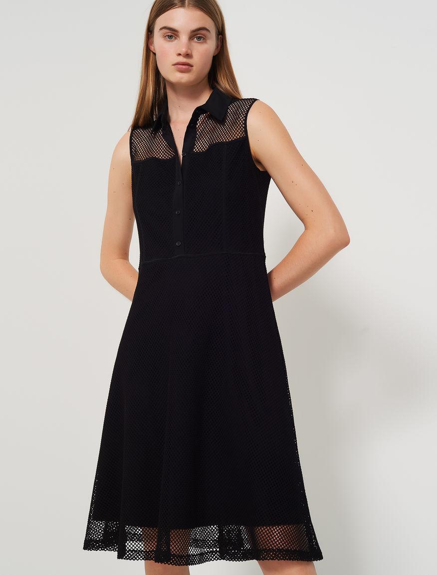 Vestido de rejilla Marella