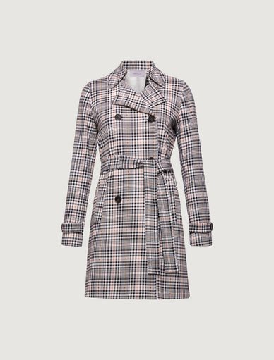 Prince of Wales trench coat Marella
