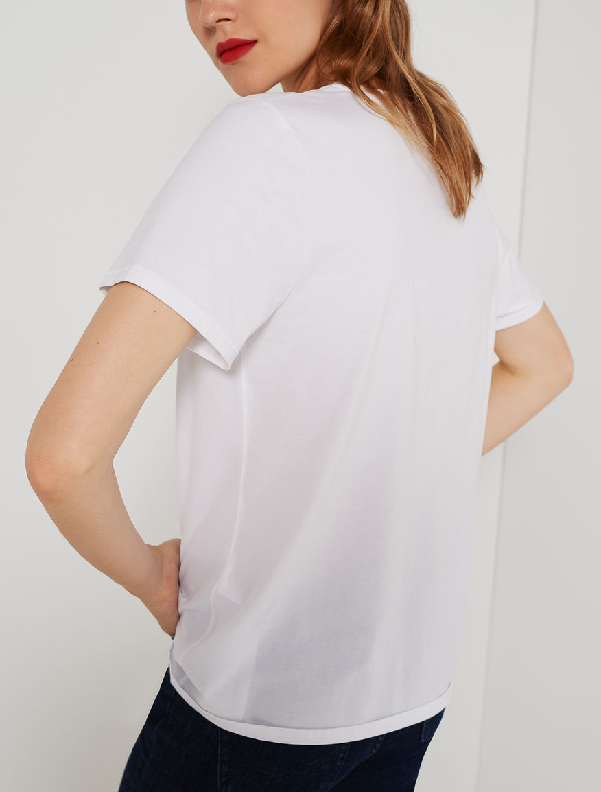 V neck T-shirt Marella