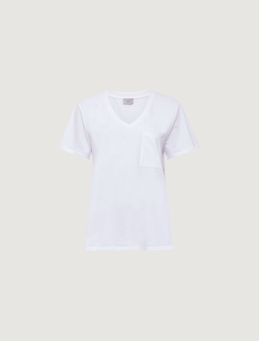 V neck T-shirt Marella